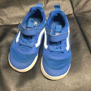 Boys toddler 9.5 Vans sneakers